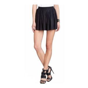 BCBG Sheena Play Shorts Elastic Waist Silky Black